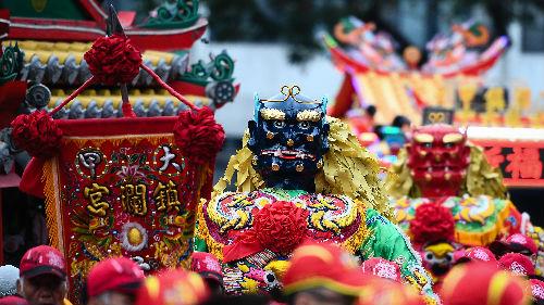 西媒关注台湾妈祖绕境进香活动:有大批虔诚信众 得到新技术支持