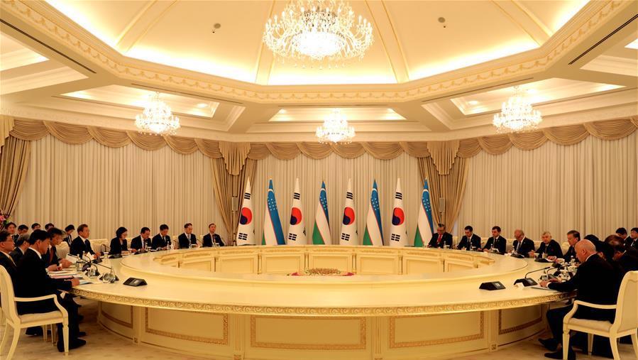 乌兹别克斯坦与韩国表示将进一步深化双边关系