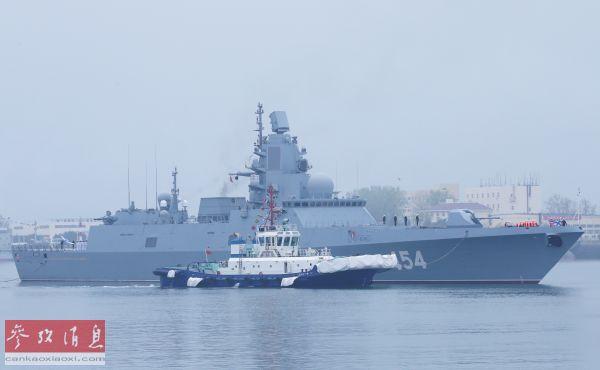 多国先进军舰陆续抵达青岛 庆祝中国海军成立70周年