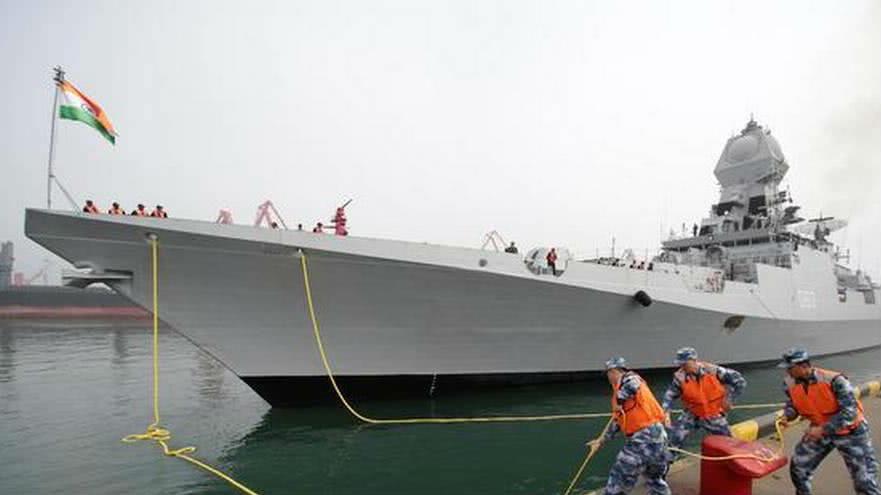 多国先进军舰陆续抵达 庆祝中国海军成立70周年