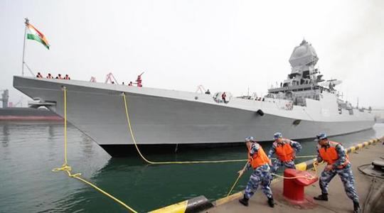 全精锐!海军70周年阅舰式外军战舰扫描