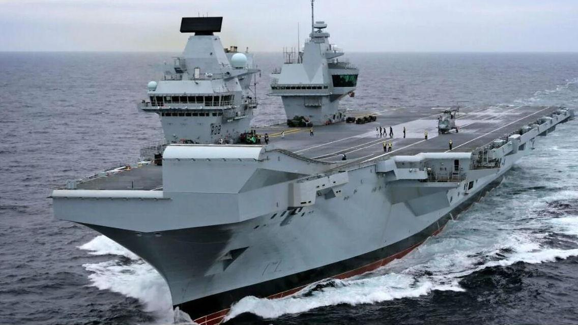 抢印度第2艘国产航母大合同!英国拿出女王级航母设计方案