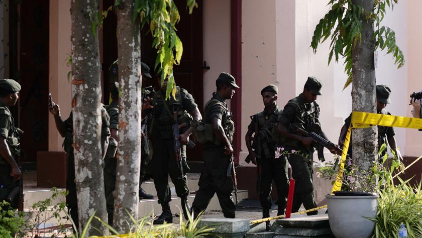 斯里兰卡警方已逮捕40名爆炸?#36214;?#30097;人