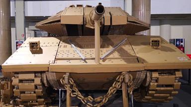 細節到位!軍迷48天打造梅卡瓦坦克模型