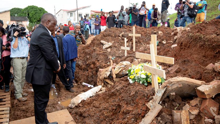 南非多地暴雨成灾 死亡人数升至51人