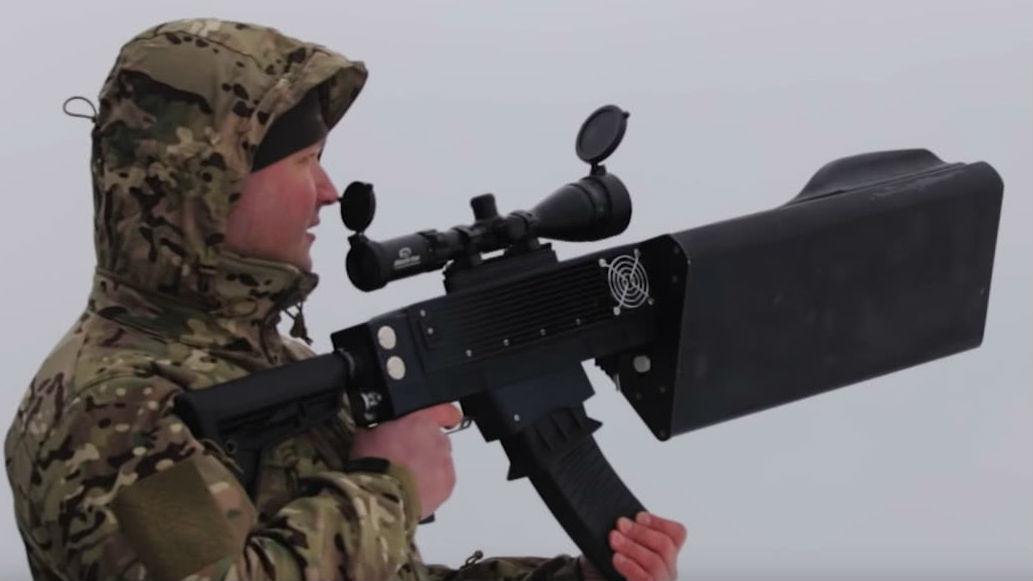 俄军研发新型反无人机武器 可阻断拦截敌小型飞行器