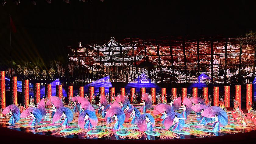 2019年中国?#26412;?#19990;界园艺博览会开幕