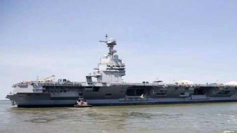 """到底哪里厉害?俄媒称现代航母依旧是""""海上霸主"""""""