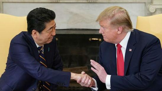 """外媒:日本的这个表态 让特朗普遭受""""沉重打击""""……"""