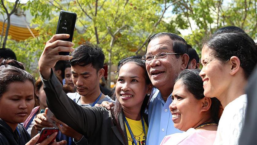 柬埔寨庆祝国际劳动节
