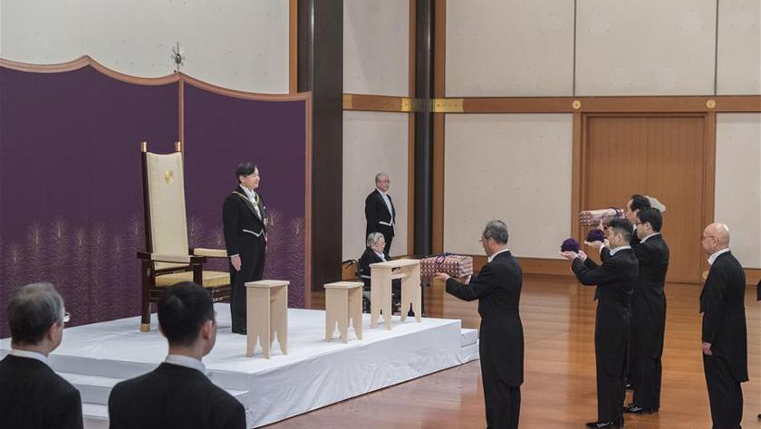 日本新天皇德仁即位开启令和时代