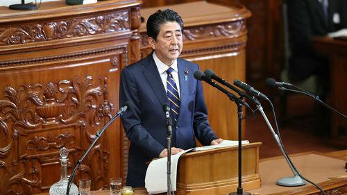 """安倍称愿""""无条件""""会见金正恩 欲恢复两国外交关系"""