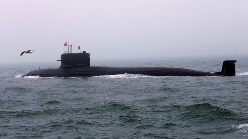 """美媒:中国海军水下实力建设""""小步快跑"""""""