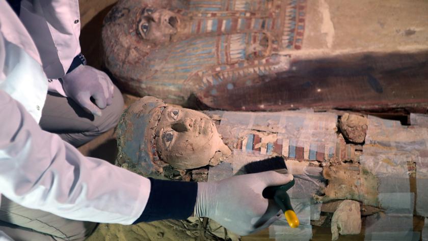埃及发掘出一处古王国时期墓地