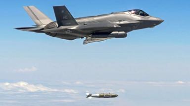 首次實戰!美F-35A隱身戰機空襲IS目標