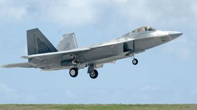 前沿部署!美軍F-22部隊移防關島基地