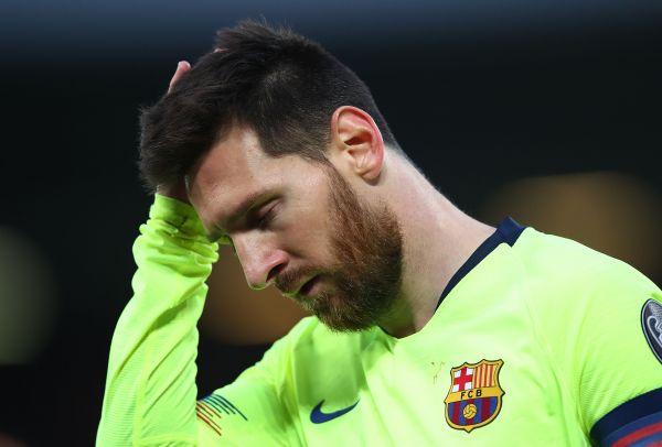梅西需要为巴萨欧冠的出局负责吗? 罗纳尔多是这样说的——