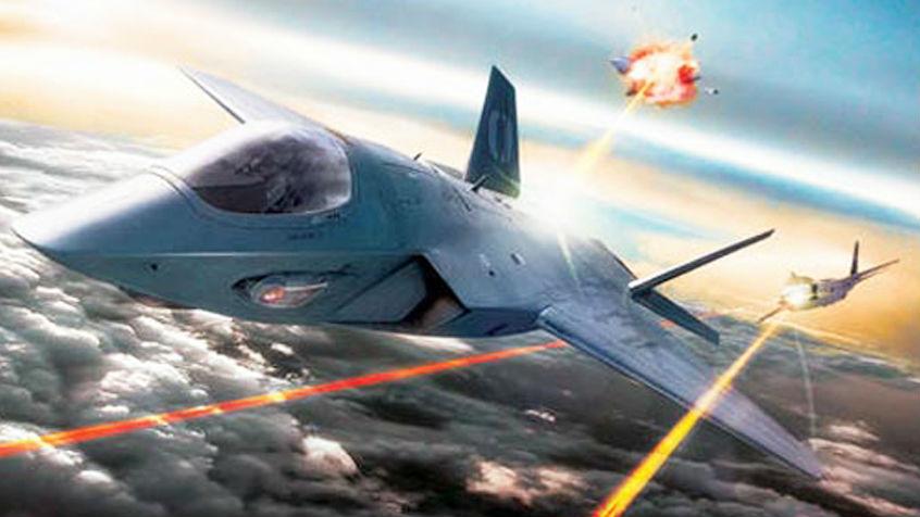 """军情锐评:以光速摧毁导弹!美神盾激光炮或成未来空战""""大杀器"""""""