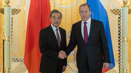 中俄外长会晤讨论广泛议题 蓬佩奥同期访俄引关注