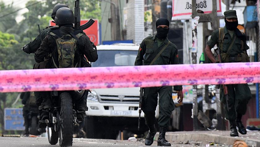 斯里兰卡部分地区发生暴力事件