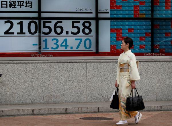 """美国将华为列入""""黑名单""""后,亚洲股市坐不住了……"""