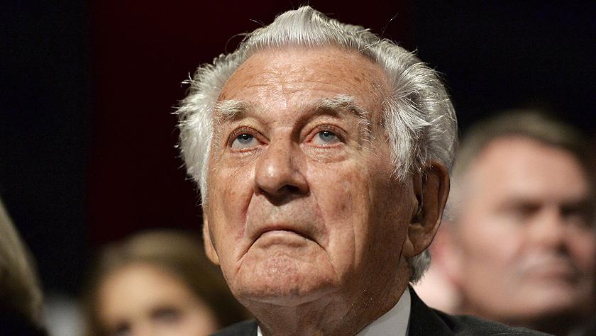澳大利亚前总理鲍勃·霍克去世