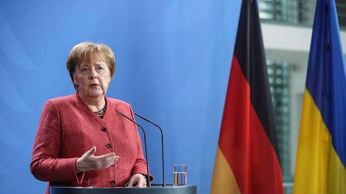默克尔呼吁欧盟直面美中俄挑战 首次将美定义为全球对手
