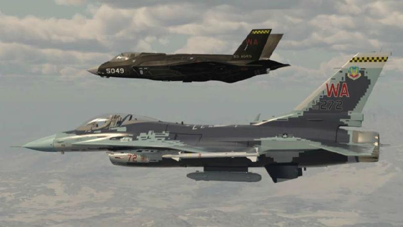 """军情锐评:为""""大国战争""""攒经验!美空军将用F-35战机当""""陪练"""""""