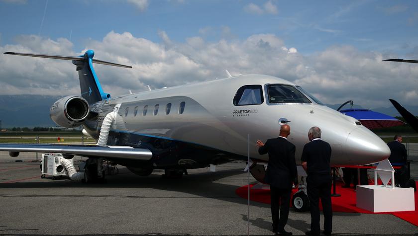 欧洲公务航空大会和展览会在日内瓦举行
