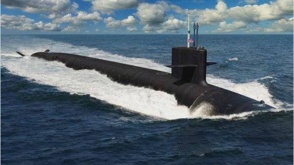 美新型核潜艇研发提速:很快将试射导弹