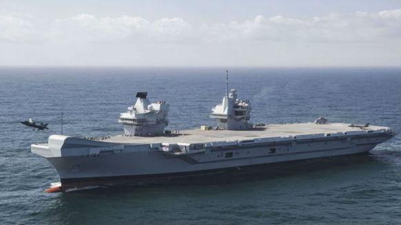 英军6架F-35B赴地中海基地训练 为上航母做准备