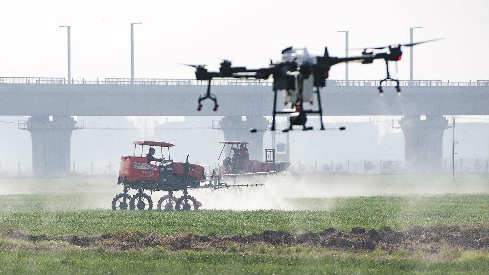 外媒:中国农业作为重点发展关键领域 将走上高科技之路