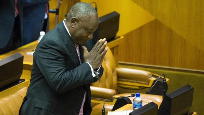 拉马福萨当选南非总统