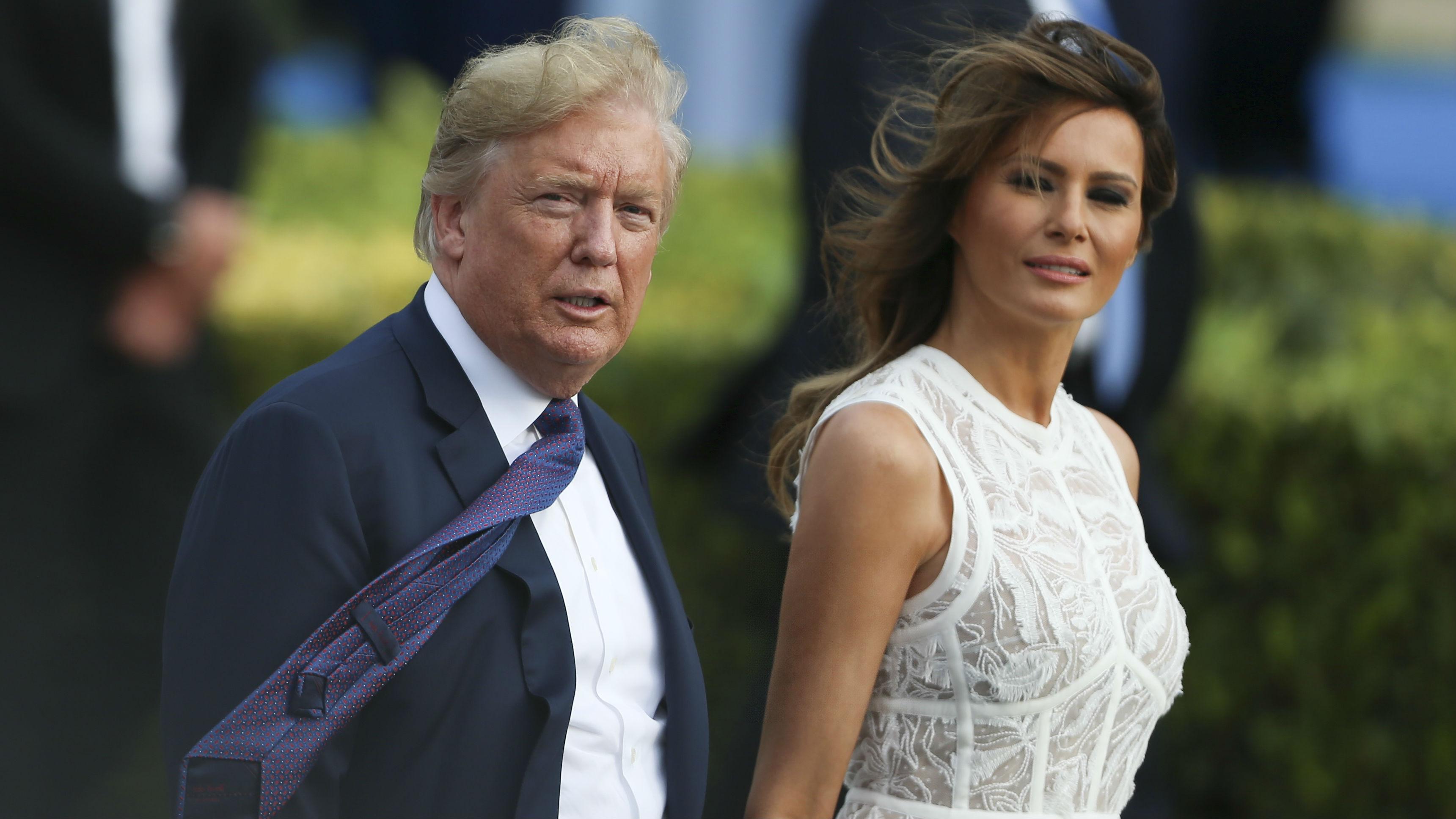 特朗普6月将第三次访英 英媒:全家出动
