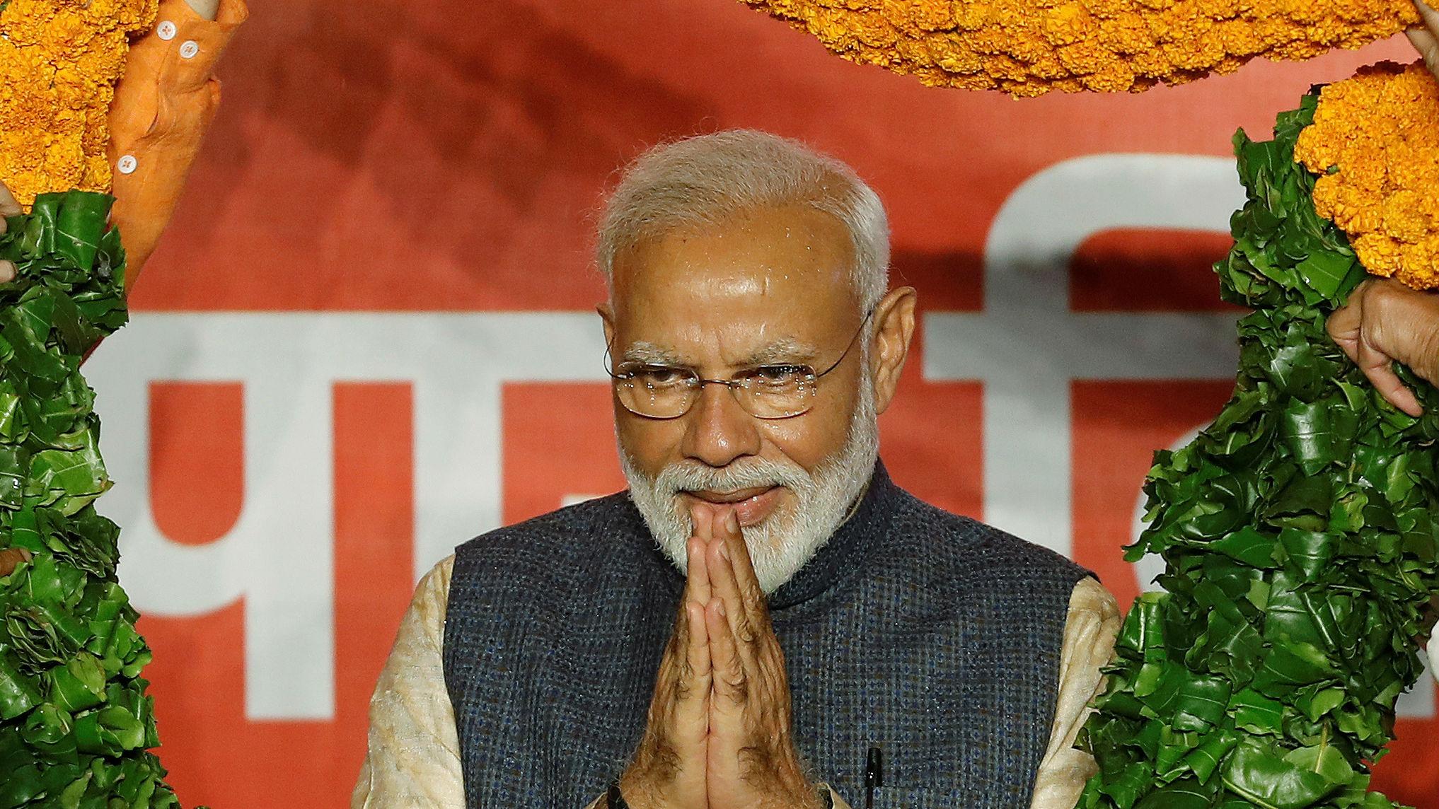 """莫迪获连任誓言建设""""包容""""印度 外媒:印度社会或将更分裂"""