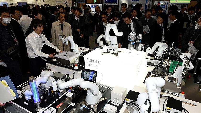 日媒称日本工业机器人订单额预期下降