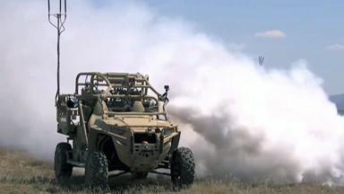 掩護友軍!美軍無人空降戰車可釋放煙幕