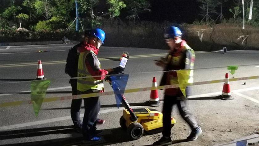 青岛一地铁工地坍塌5名工人被困