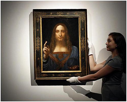 卢浮宫此前称,他们请求这幅画的主人将画出借,用来布置秋天的达芬奇