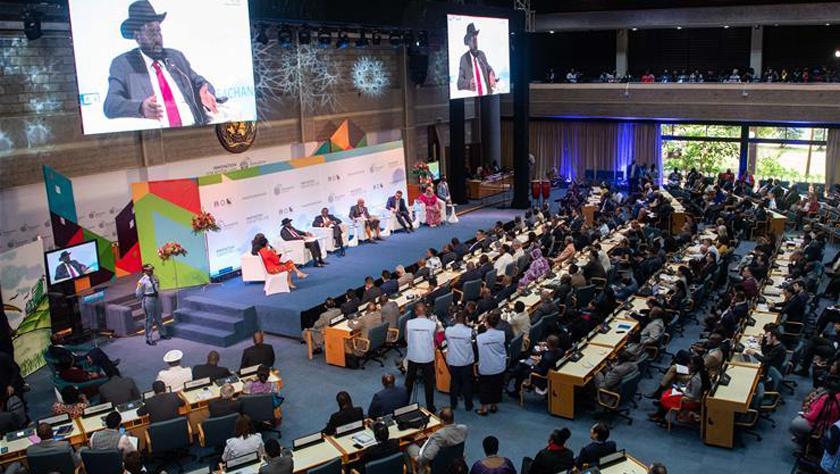 首届联合国人居大会高级别会议关注城市可持续发展