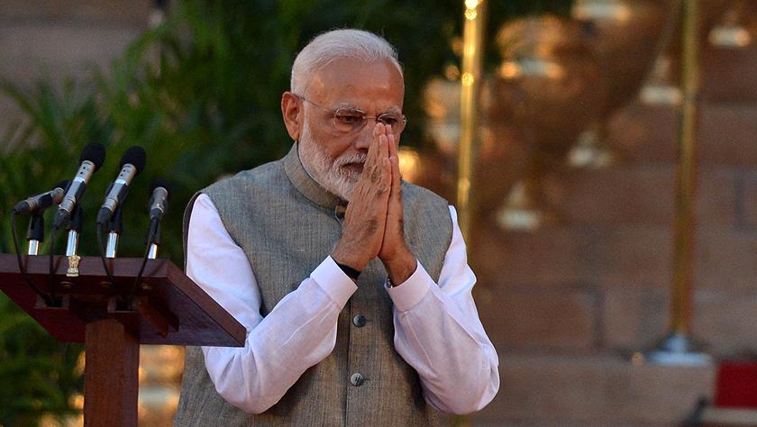 莫迪宣誓就任印度新政府總理