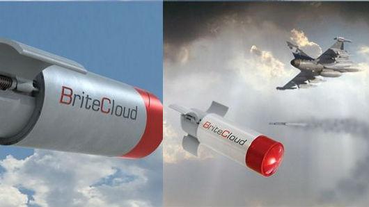 """英""""台风""""战机测试导弹诱饵:未来F-35或装备"""