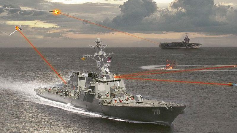 军情锐评:光速摧毁海空目标!美军驱逐舰将载实战型激光炮