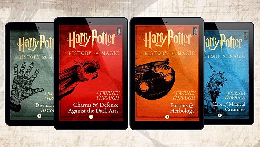 """想学习黑魔法防御术吗?哈利·波特系列将推出""""魔法课程"""""""