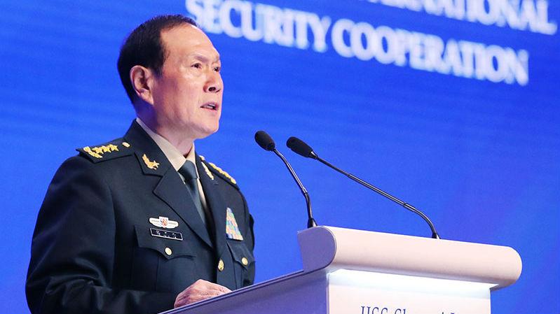 """中国防长""""香会""""演讲旗帜鲜明 正面回应焦点问题"""