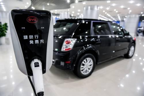 日媒:中国新能源汽车领先地位难撼动