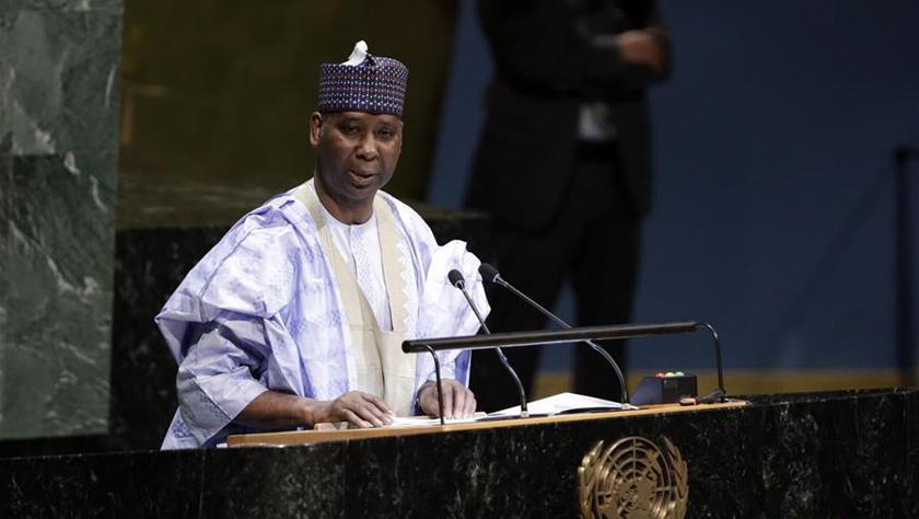 尼日利亞常駐聯合國代表提賈尼·穆罕默德-班德當選第74屆聯合國大會主席