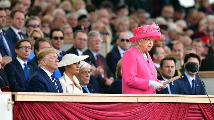 英國紀念諾曼底登陸75周年