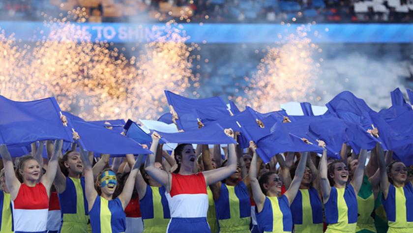 足球——2019年法国女足世界杯开幕