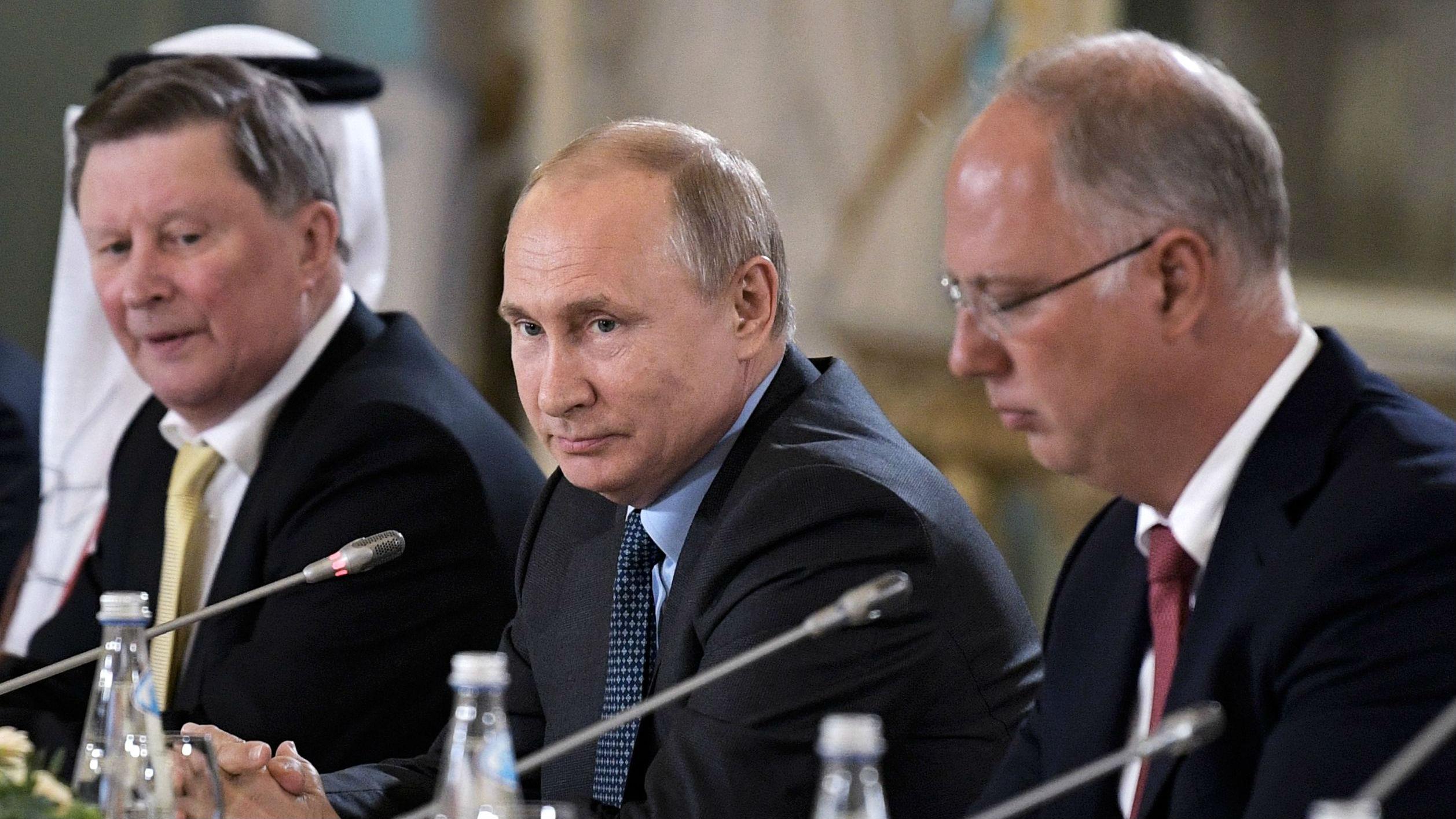 普京狠批美国帝国主义心态:破坏全球安全构架